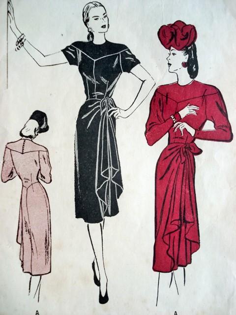 Vintage 1940s Sewing Patterns