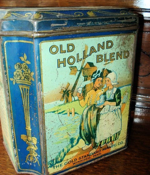 Vintage and Antique Tins