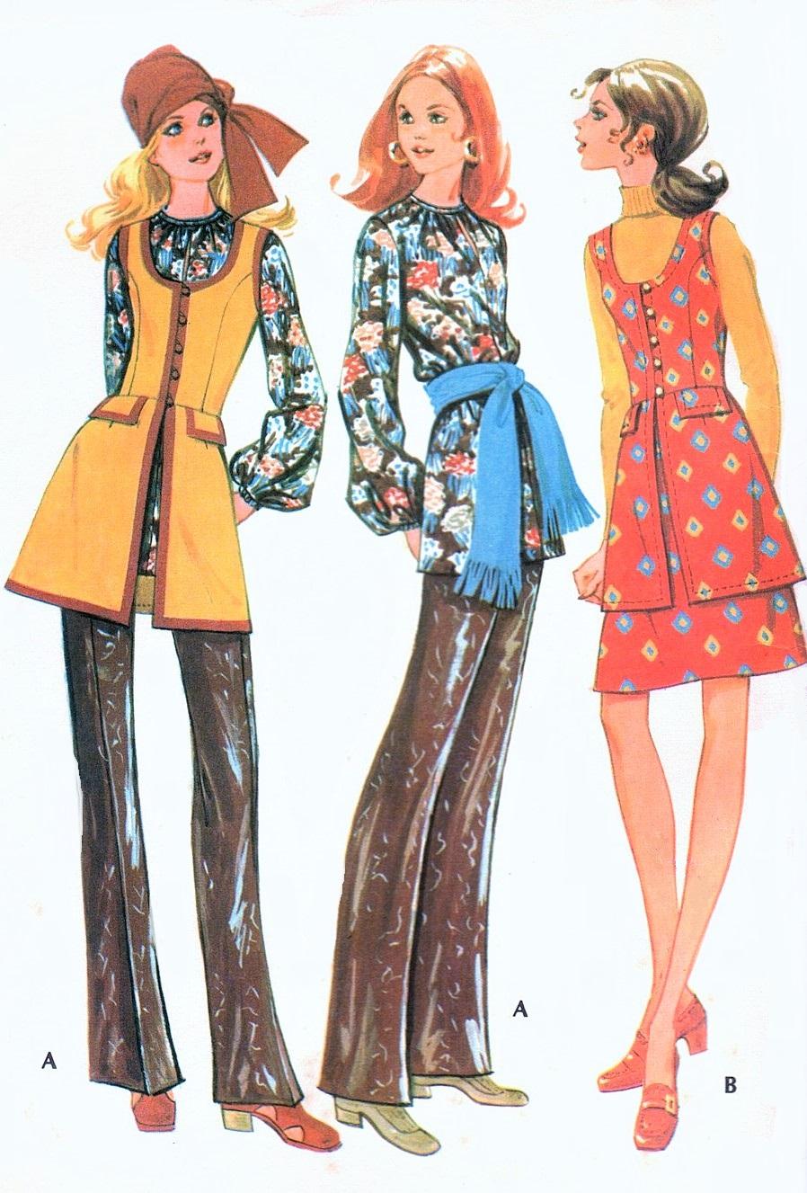 Vintage 1970s Sewing Patterns