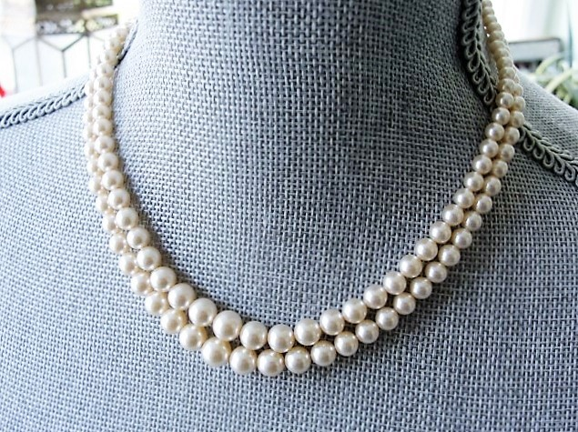 BEAUTIFUL Lustrous Pearl Bead Necklace Perfect For Bride Wedding Evening Wear High Quality Costume Jewelry